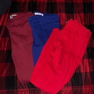 Colorful Jeans bundle size 4